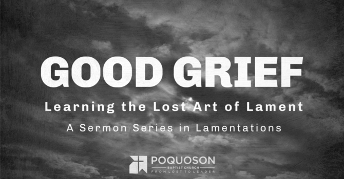 An Inconvenient Truth: Lament & The Anger of God.