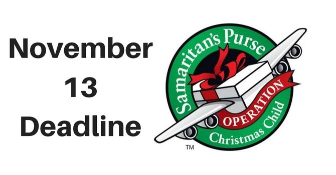 Operation Christmas Child Logo.Operation Christmas Child Erindale Alliance Church