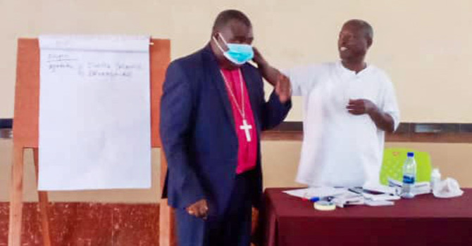 Buye Diocese Raising Awareness for COVID-19 Spread Prevention image
