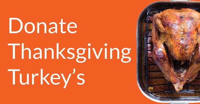 St. Paul's Needs Thanksgiving Turkeys image
