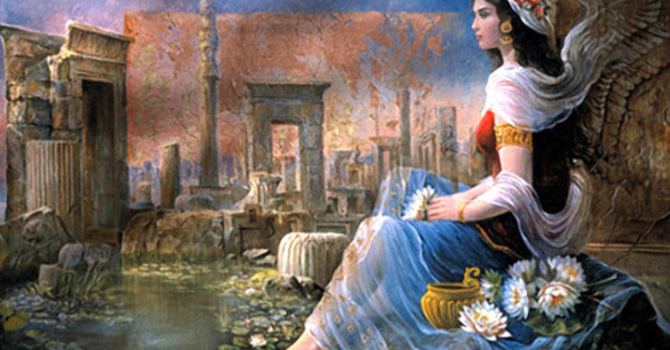Jewish Orphan Becomes Persian Queen image