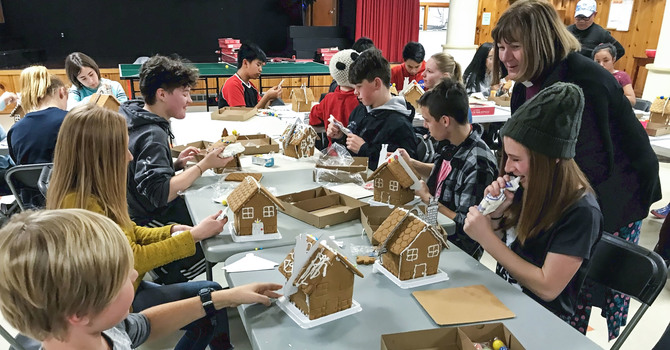Young Anglican Creatives Construct Sweet Gingerbread Cottages