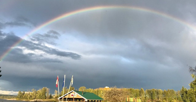 St. Patrick's Celebrates Season of Creation at Whitecourt's Riverboat Park image