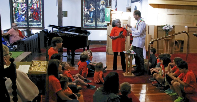 "Christ Church Wears Orange to Affirm ""Every Child Matters"" image"