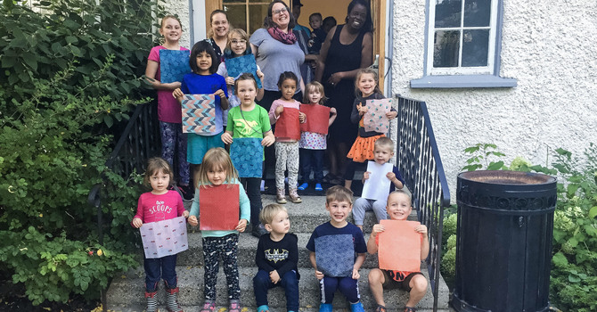 Christ Church Families Celebrate Creation Messy Church Style