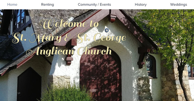 St. Mary's & St. George's, Jasper Launches New Website image