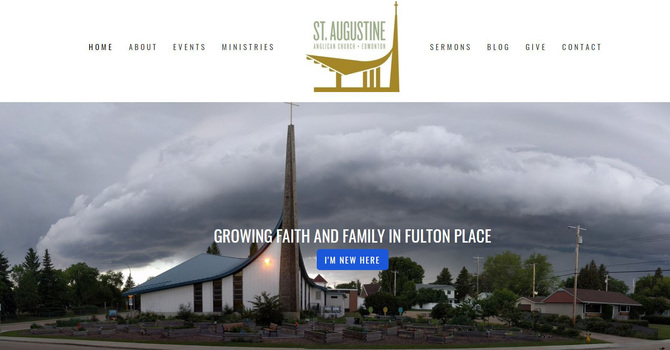 St. Augustine's Welcomes Virtual Visitors on New Website