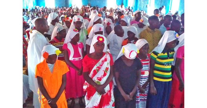 Buyé Diocese Celebrates Confirmation Season image
