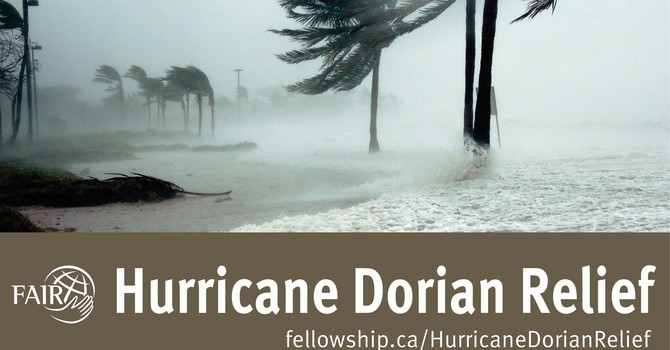 FAIR Hurricane Dorian Relief  image