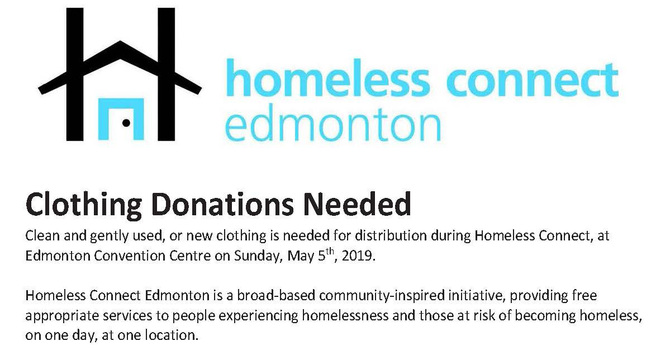 Homeless Connect Clothing Drive