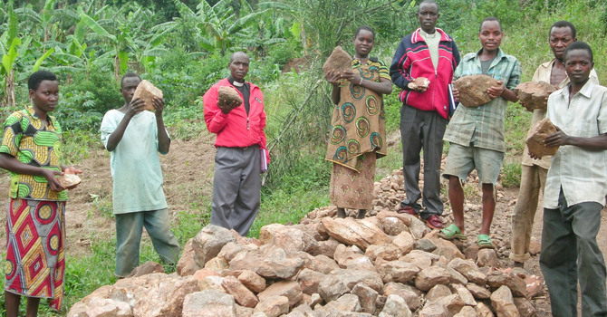 Kavomo  Water Spring Improvement Project Underway image