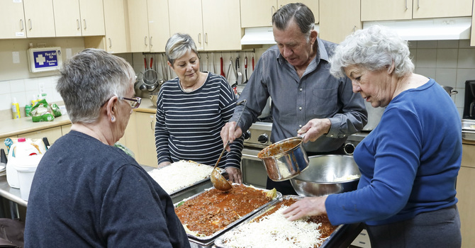 Home-cooked Meals Made with Love for PrayerWorks Community image
