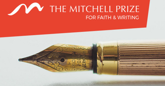 The Mitchell Prize for Faith and Writing image