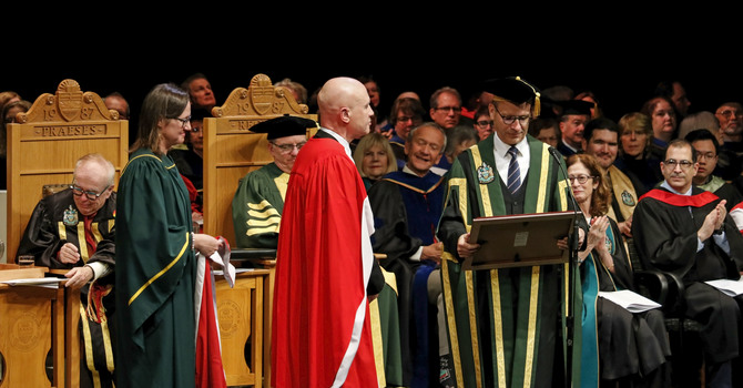Cathedral Music Director Honoured with Doctorate Degree image