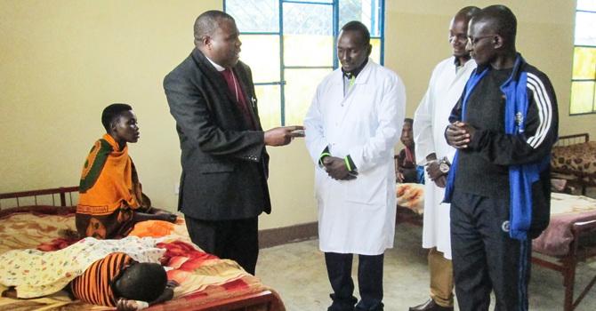 Buye Diocese Celebrates Pediatric Ward Opening