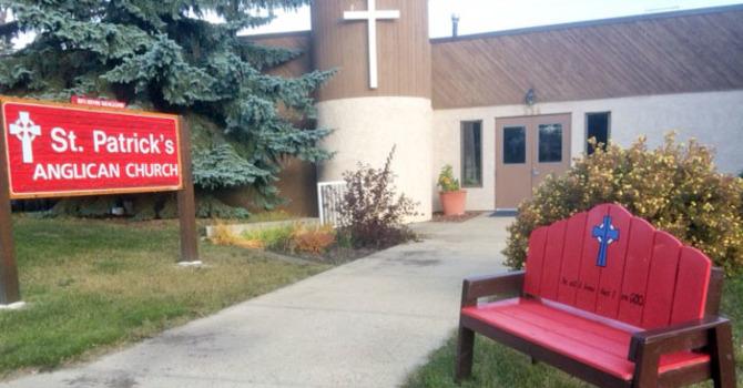 St. Patrick's Blesses Community Bench