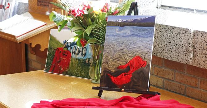 Red Dress Memorial Service image