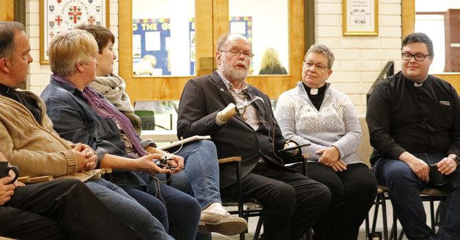 Clergy and Lay Readers Talk Reconciliation with Fr. Lapsley