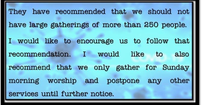 National Bishop on COVID-19 image
