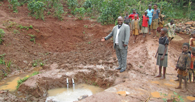 Water Spring in Kiziba Construction Update image