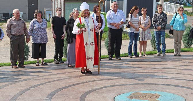 Bishop Leads Sunday Celebration at St. Patrick's, Whitecourt