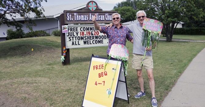 St. Thomas Welcomes Neighbours to Summer Block Party image