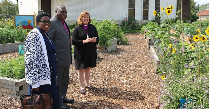 Bishop's Anniversary Collection to Fund Water Spring in Buye Diocese