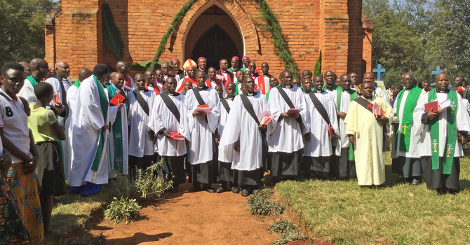 Buyé Service of Ordination