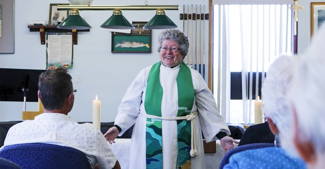 Wabamun Mission Expresses Gratitude for Founding Rector's Leadership