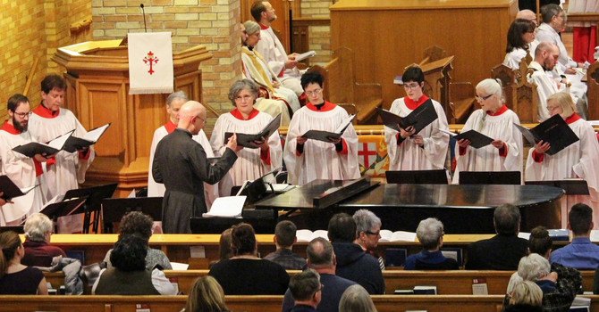 Choristers Invited to Sing in Diocesan Choir image