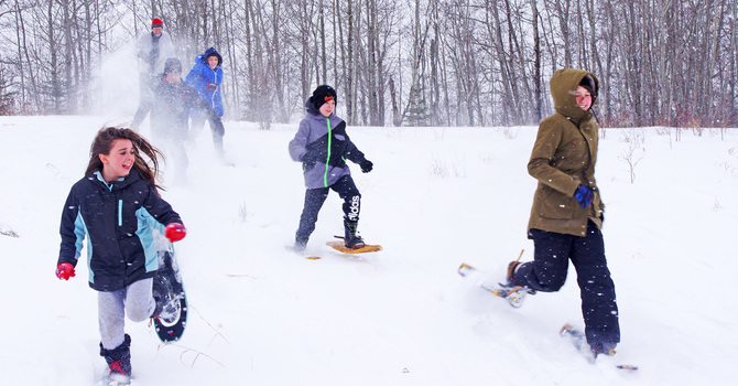Full-Moon Youth Winter Adventure Camp
