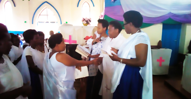 Diocese of Buyé Celebrates Mother's Union  image
