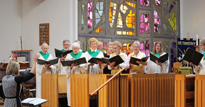 Multi-church Choral Music Workshop image