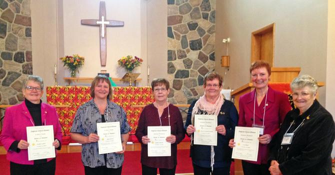 ACW Life Memberships Presented at Whitemud Regional