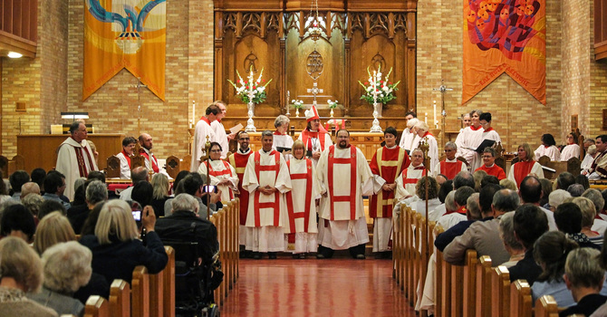Holy Cross Day Ordination image