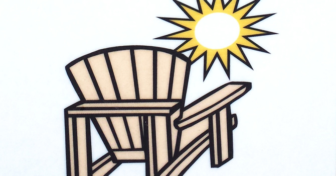 Lawn-chair Church at Whispering Spruce Campground image