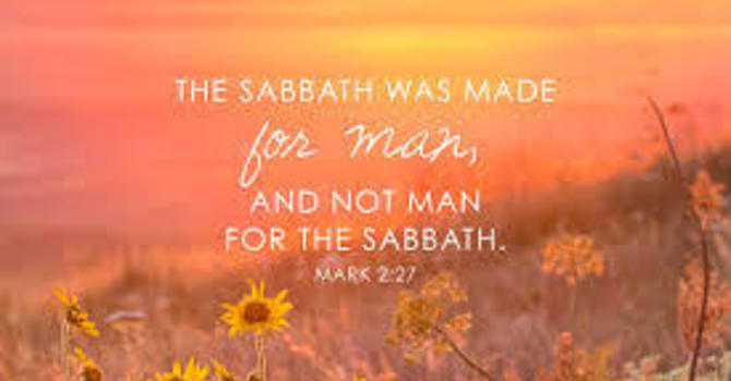 Sabbath: God's Gift to Us image