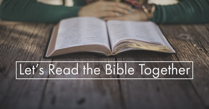Let's Read the Bible Together | Kamloops Alliance Church
