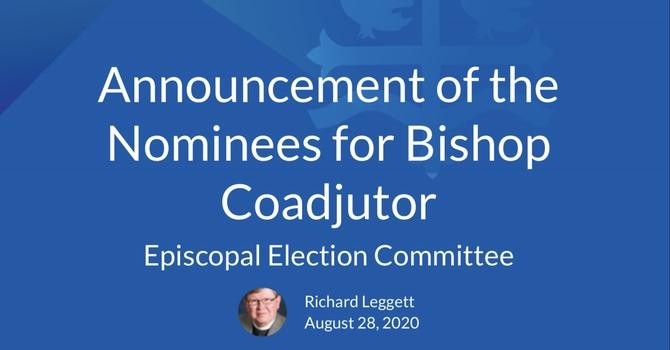 Nominees for Bishop Coadjutor  image