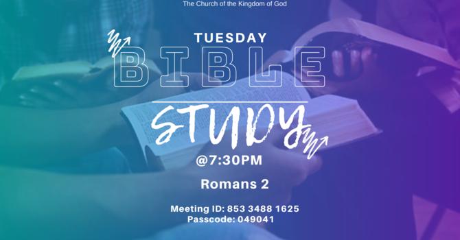 Zoom Bible Study