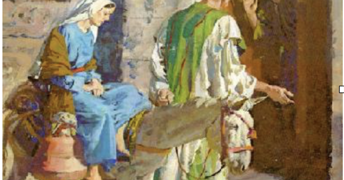 Mary and Joseph Advent Exercise