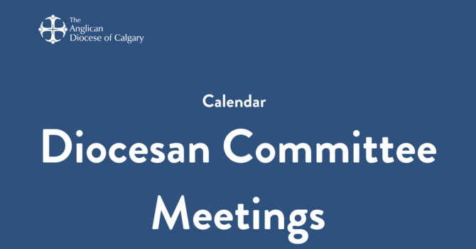 Diocesan Committee Meetings
