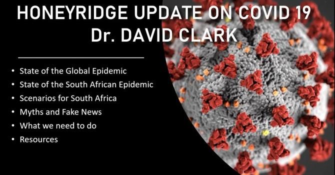 Update on COVID-19 - Dr David Clark image