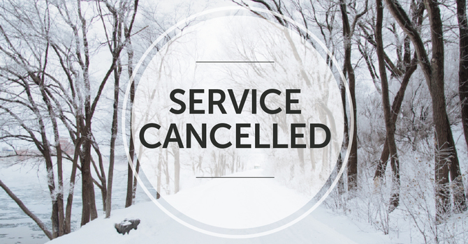 March 15 service cancelled