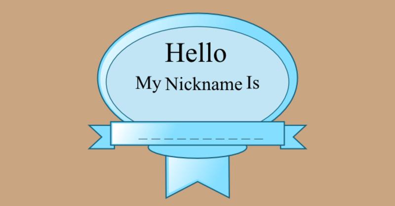 """"""" God's Nickname For You"""""""