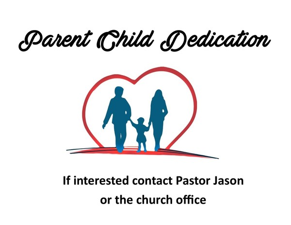 Baby/Child Dedication
