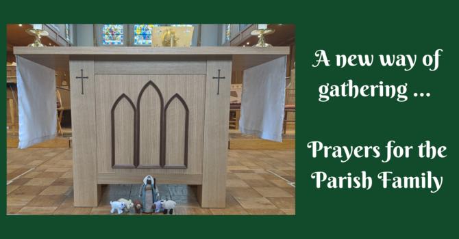 Prayers for the Parish Family