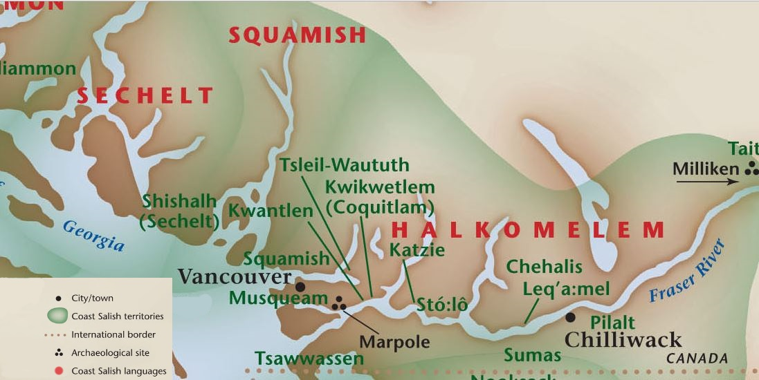 Coast Salish Territories