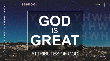 God is Great