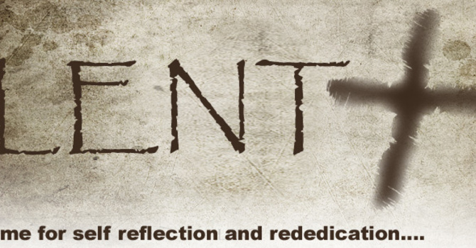 Opportunites for Lent image